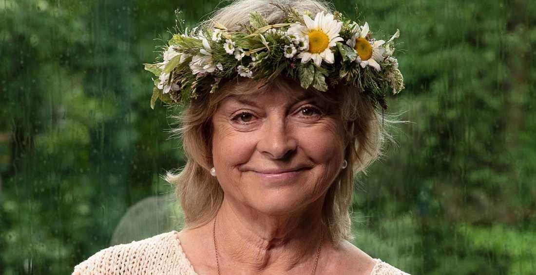 """Grynet Molvig, värd för """"Sommar"""" den 23 juni."""