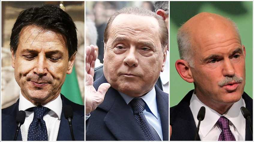 Giuseppe Contes regering underkändes efter EU-maktens ingripande, skriver Olle Svenning. Unionen har tidigare avsatt demokratiskt valda ledare som italienska premiärministern Silvio Berlusconi och Greklands Giorgos Papandreou.