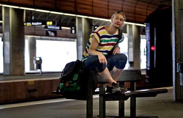 Mathias Stintzing är på väg mot Falun. Tåget är i tid men när det blir förseningar vill han gärna veta orsaken utan att behöva gå in på SJ:s hemsida.