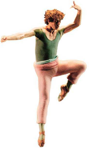 Rudolf Nurejev - en av alla tiders största balettdansörer. Bilden från 1988.