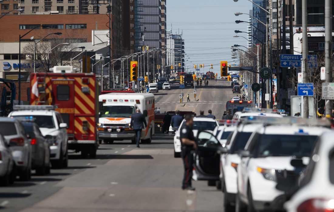 Många av offren i skåpbilsattacken i Toronto var kvinnor. Och 25-årige Alek Minassian som gripits som misstänkt för dådet ska ha gett uttryck för kvinnohat på Facebook