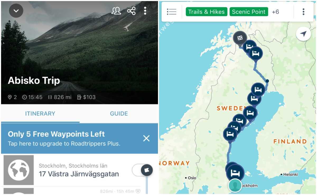 På vägen mellan Stockholm och Abisko finns det en hel del att se.