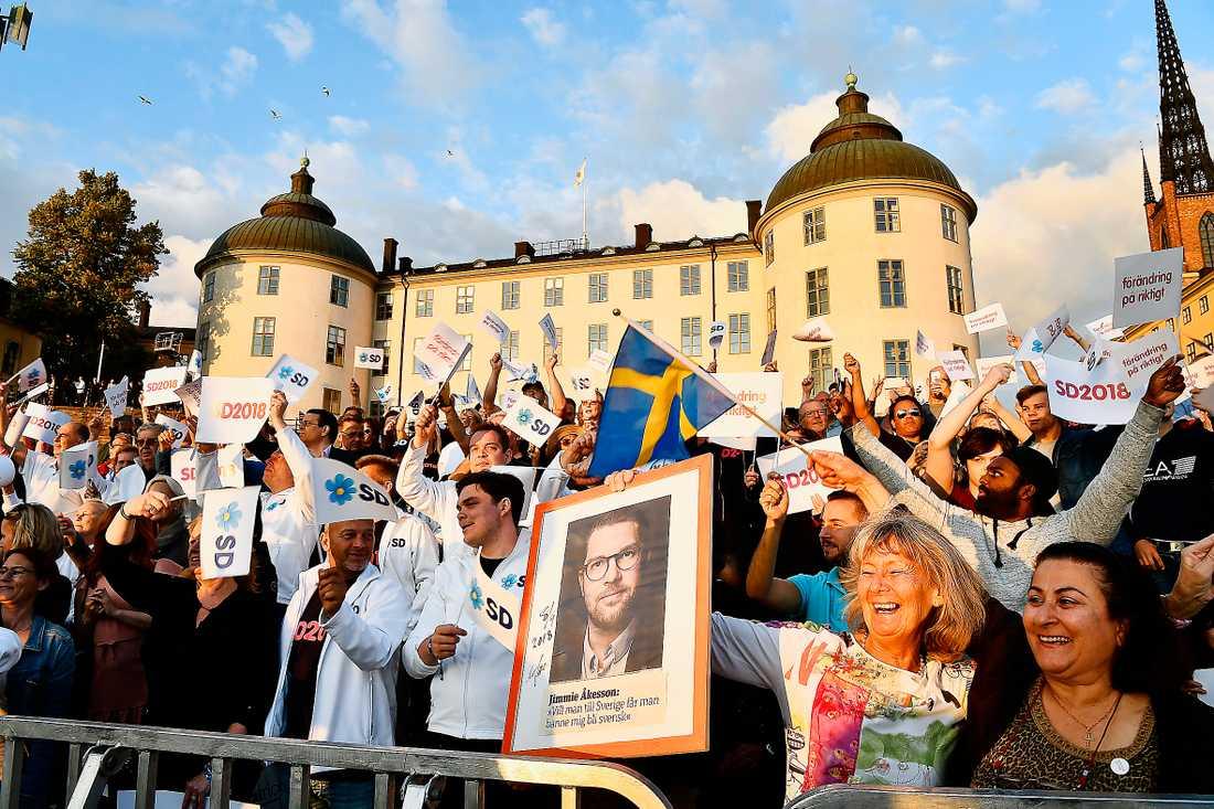 På punkt efter punkt framstår SD-väljarna som politiska reservmoderater. Men särskilt bittra är de inte, skriver Petter Larsson.