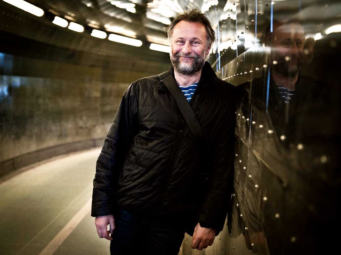 Michael Nyqvist fotograferad för Aftonbladet i april 2013.
