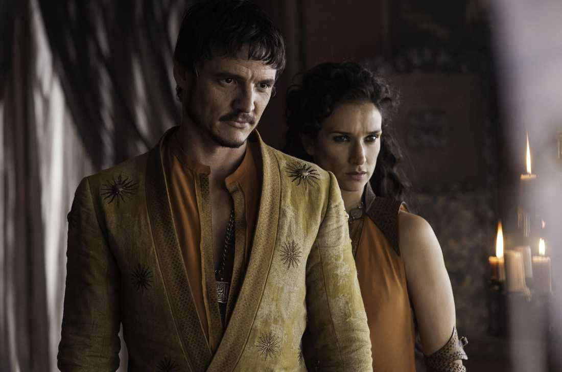"Pedro Pascal i ""Game of thrones""."