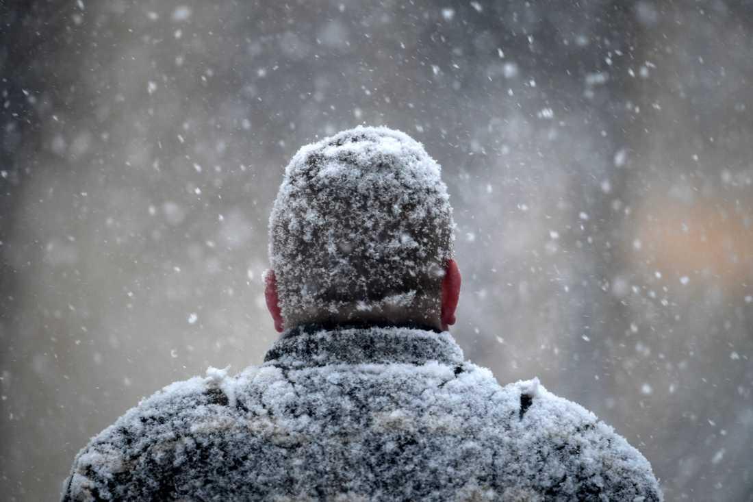 Det väntas komma uppemot 30 centimeter snö i morgon.