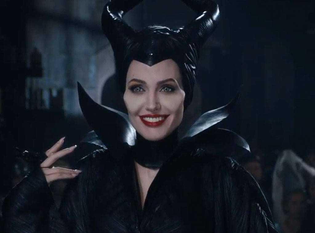 """Angelina Jolie i första """"Maleficent""""."""