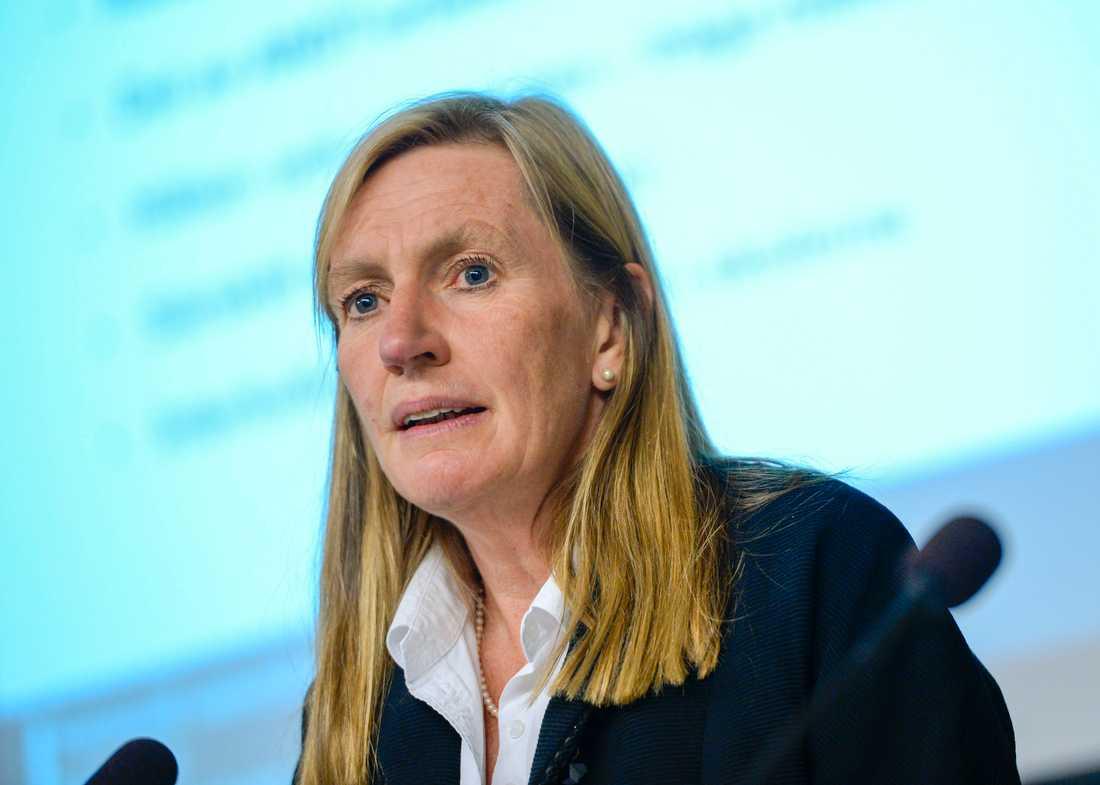 Carin Götblad, regionalpolischef i region Mitt. Arkivbild.