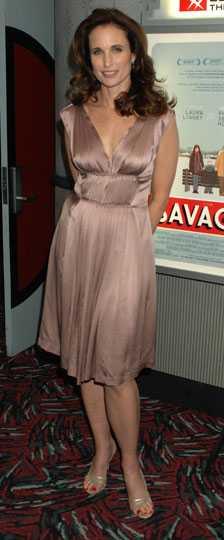Andie MacDowell fyller även hon 50 i år.