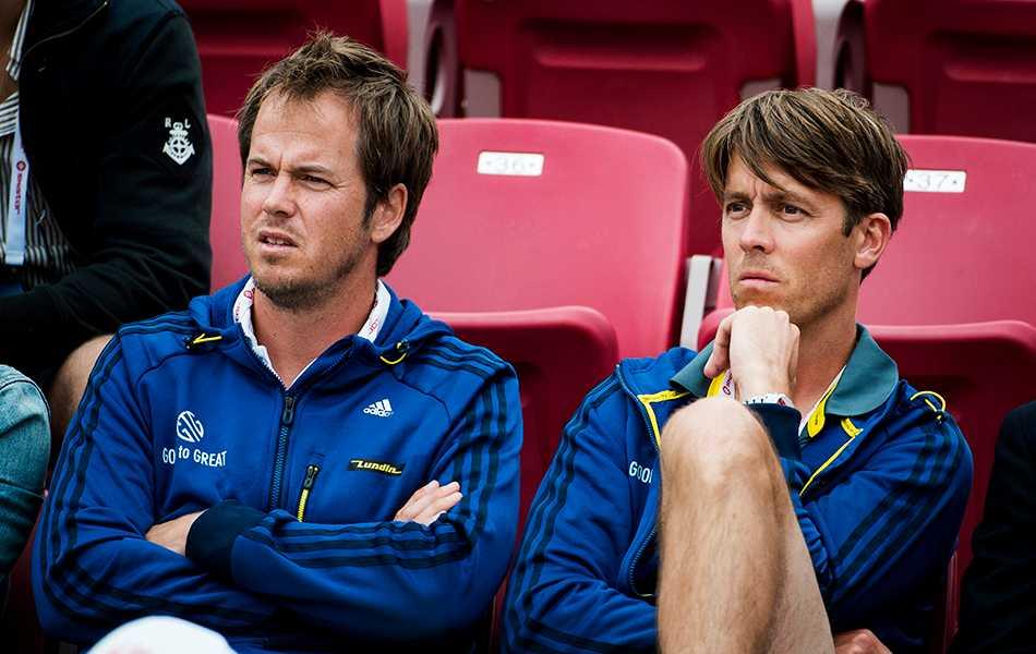 Magnus Norman och Mikael Tillman.