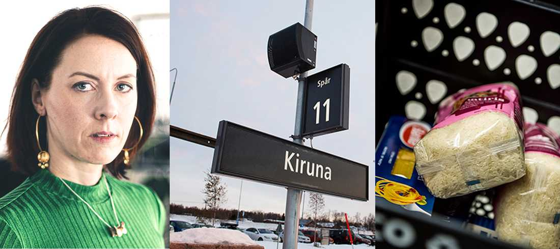 Margit Richert skriver om ett Kiruna där stämningen snabbt förändras när corona kryper närmare.