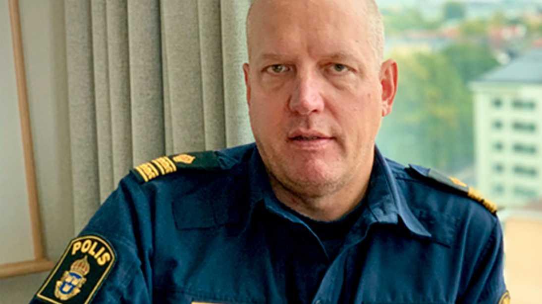 """""""Detta är den första gemensamma nationella utredningsinsatsen som genomförts i denna form"""", säger Jonas Eronen, polisens presstalesperson i Uppsala."""