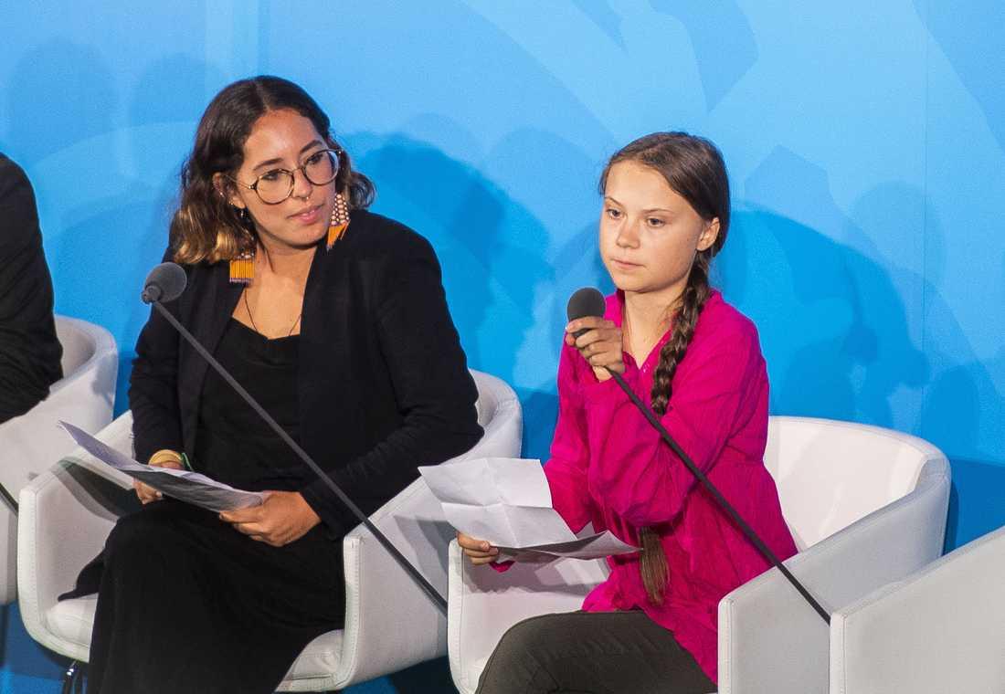 Greta Thunberg, 16.