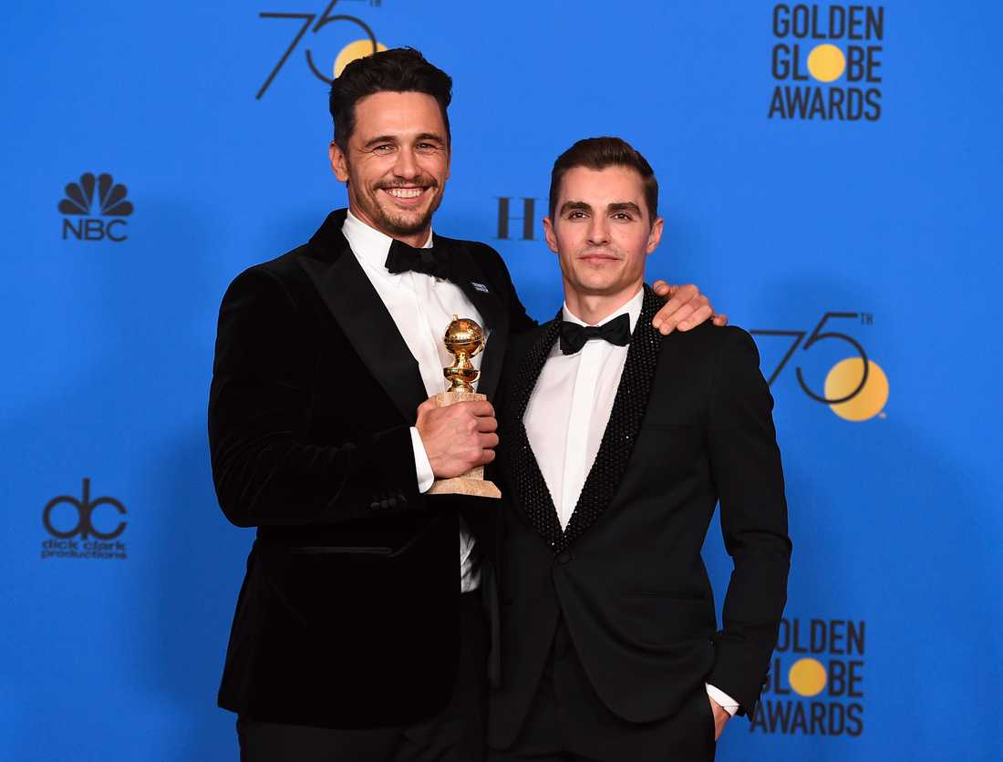 James och Dave Franco.