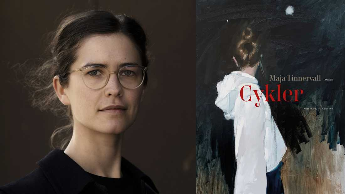 """Maja Tinnervall (född 1991) utkommer med debutromanen """"Cykler""""."""