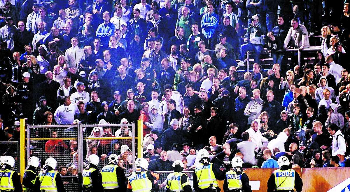 oroligt Under derbyt mellan Hammarby och AIK den 25 augusti i fjol uppstod det flera bråk i Hammarbyklacken.