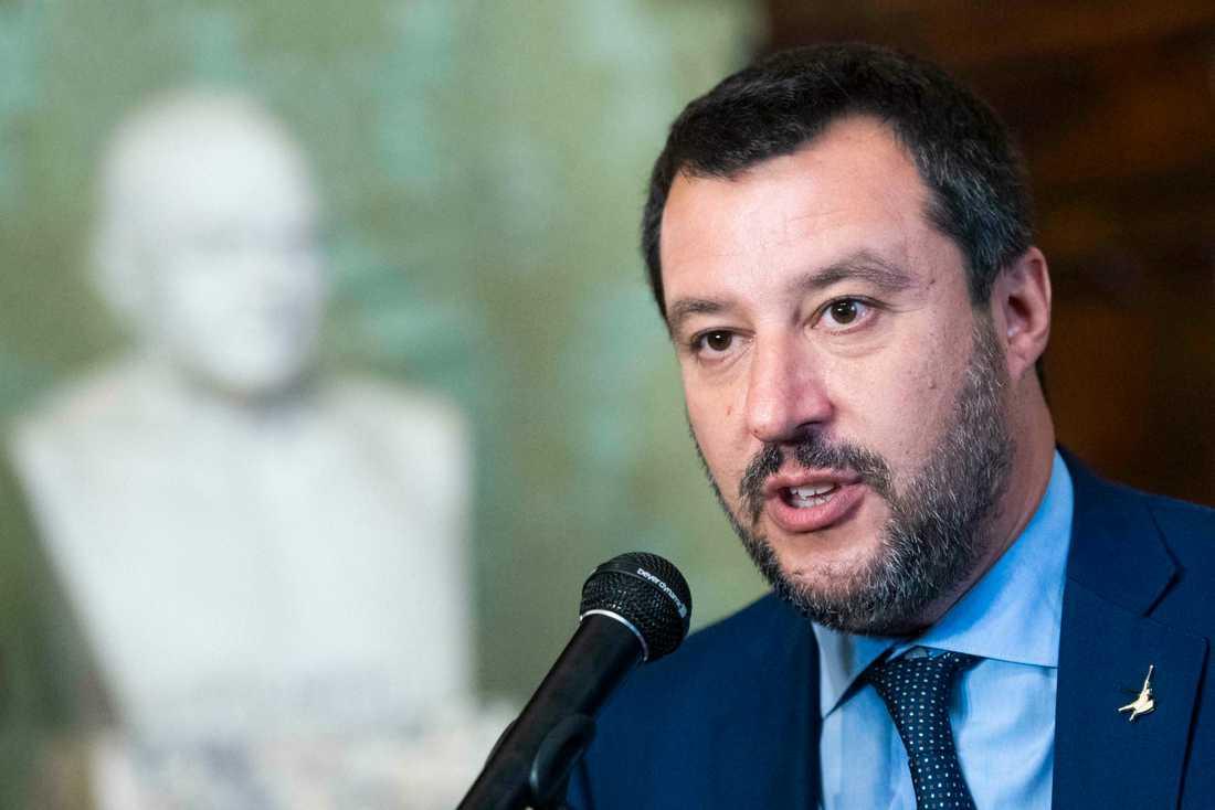 Italiens högerpopulistiske före detta ledare Matteo Salvini har fått se sina opinionssiffror dala kraftigt.
