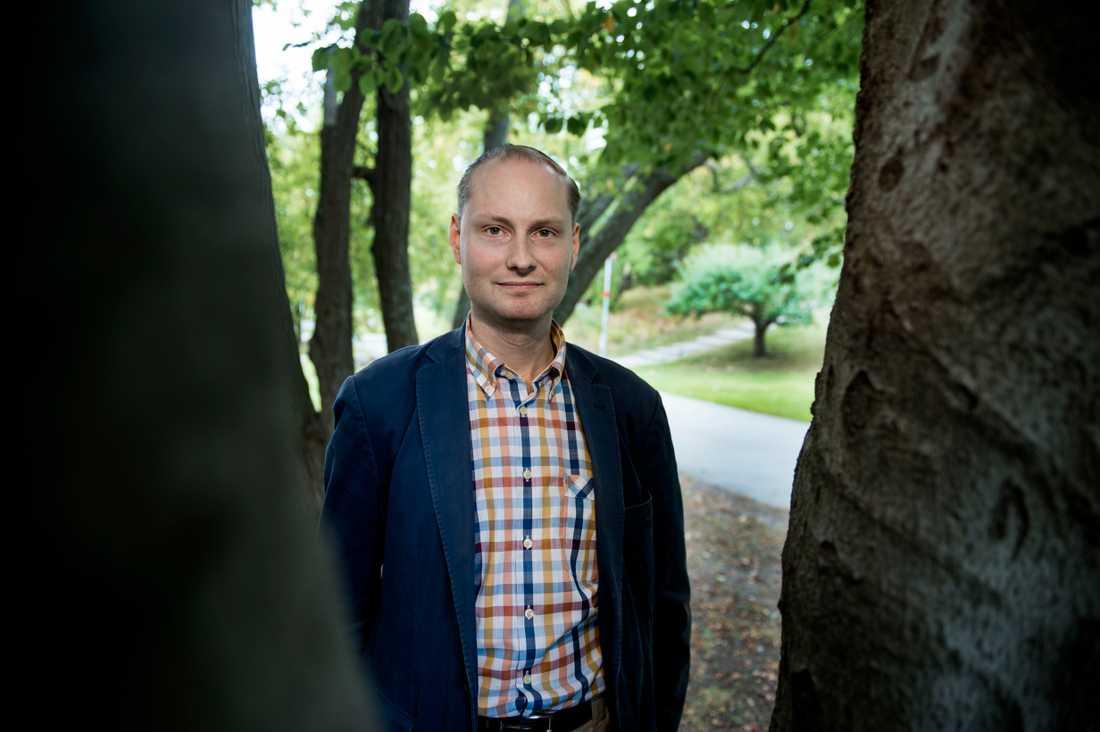 Fredrik Charpentier Ljungqvist, historiker.