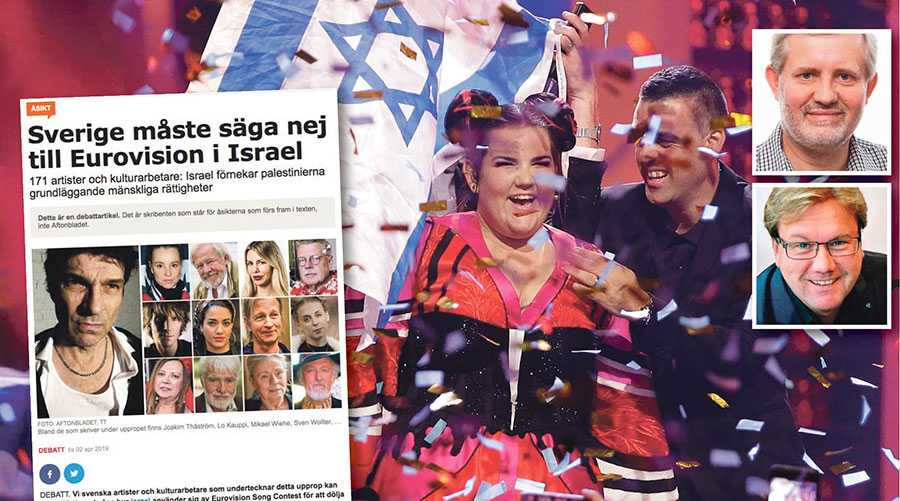 Att arrangera schlagerfestivalen i Tel Aviv ger hela världen chansen att få se det verkliga Israel. Den möjligheten får inte blockeras av en grupp som ensidigt driver sin avsky för landet, skriver Mats Fält och Stefan Dozzi.