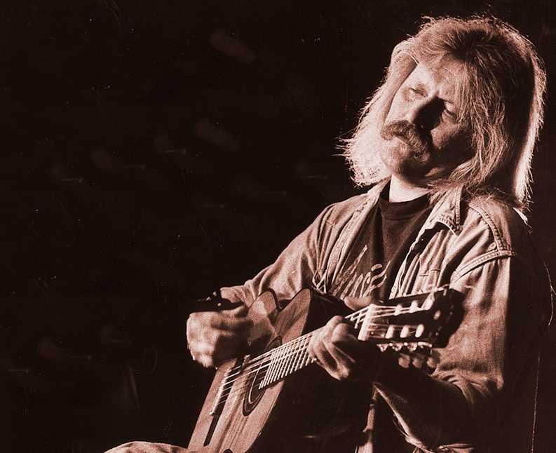 """Musikern och missbrukaren Kenneth """"Kenta"""" Gustafsson avled 2003, 54 år gammal."""