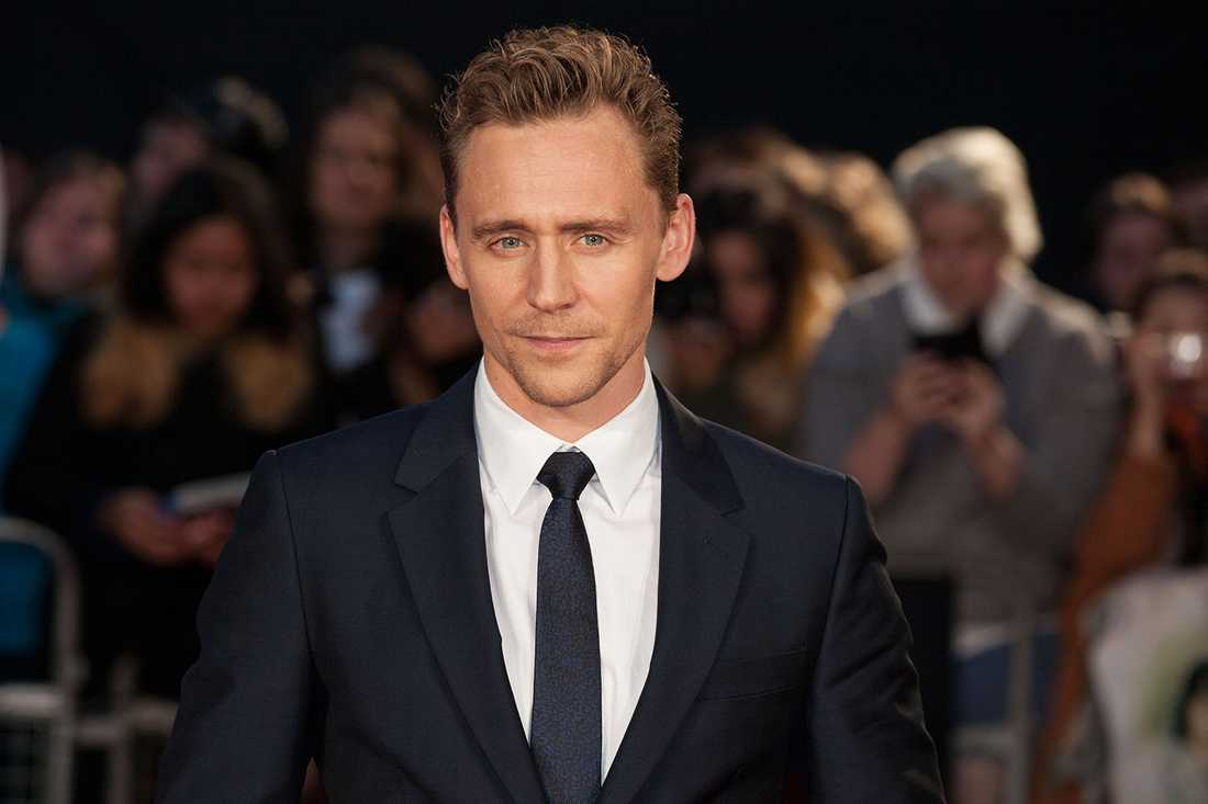 Skådespelaren Tom Hiddleston.