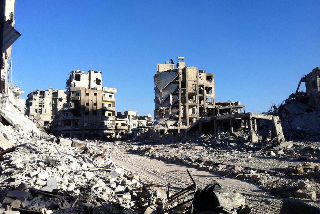 Men nu har regimen återtagit staden.