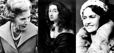 597f79400847 Två drottningar och en prinsessa Drottning Ingrid, drottning Kristina och  prinsessan Sibylla är tre svenska