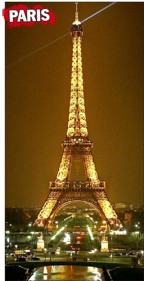 LYXKROG Le Georges ligger nära Eiffeltornet.