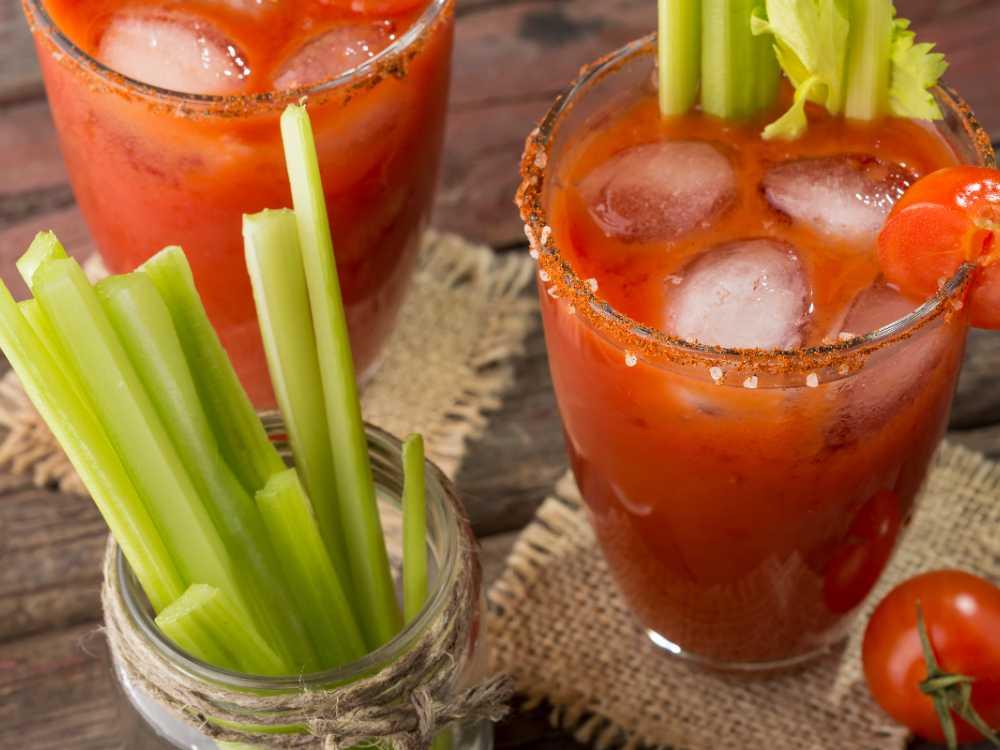 Bloody Mary med selleristjälk.