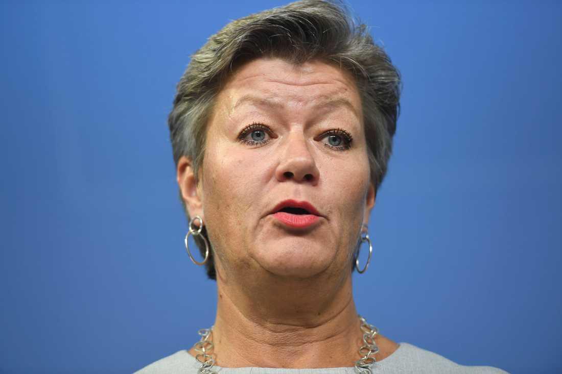 Ylva Johansson (S), arbetsmarknadsminister. Betyg: 2,4 (+0,1)