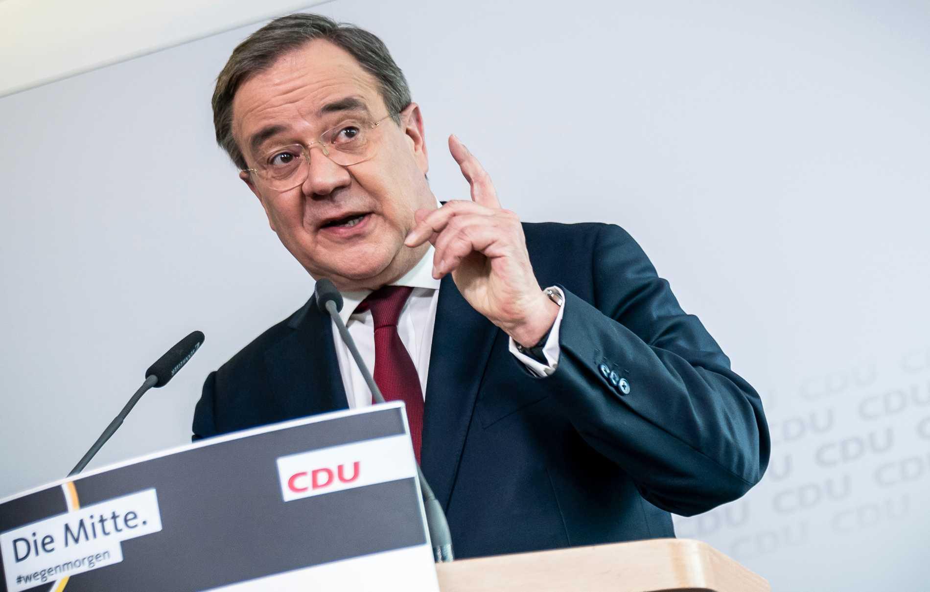 CDU-ledaren Armin Laschet.