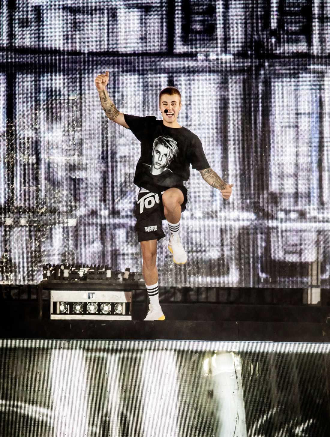Justin Bieber på Summerburst i Stockholm.