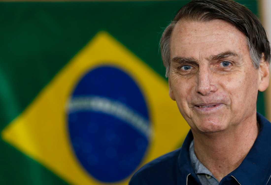 Presidentkandidaten Jair Bolsonaro.