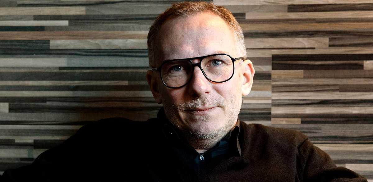 """Gustaf Skördeman, aktuell med thrillern """"Geiger""""."""