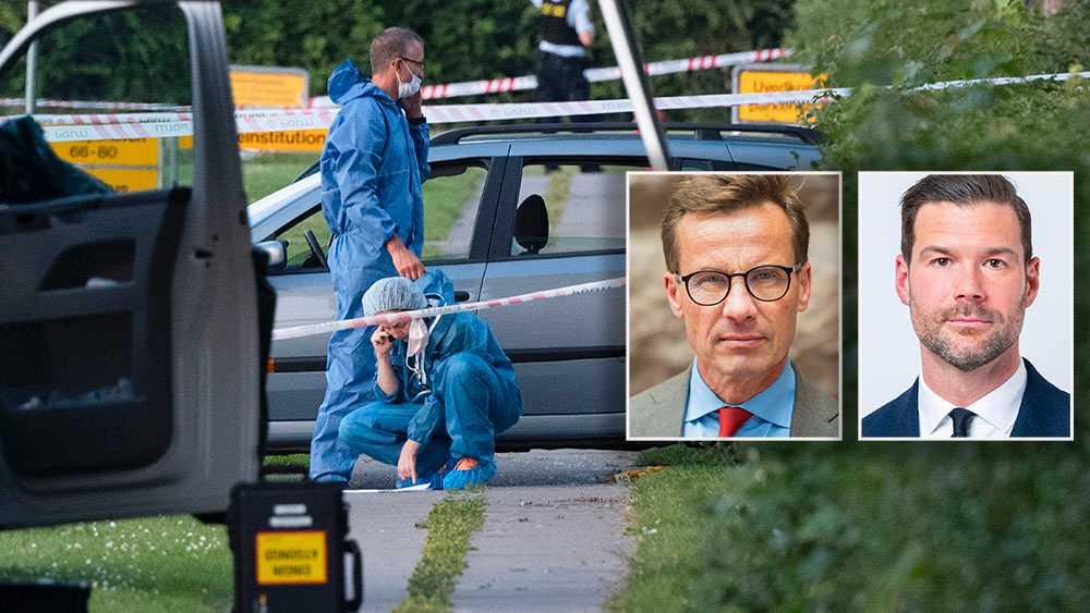 I Danmark får gängkriminella dubbla straff, i stället för straffrabatter. Regeringen borde lära sig av vårt grannland, skriver Ulf Kristersson, partiledare (M) och Johan Forssell, rättspolitisk talesperson (M).