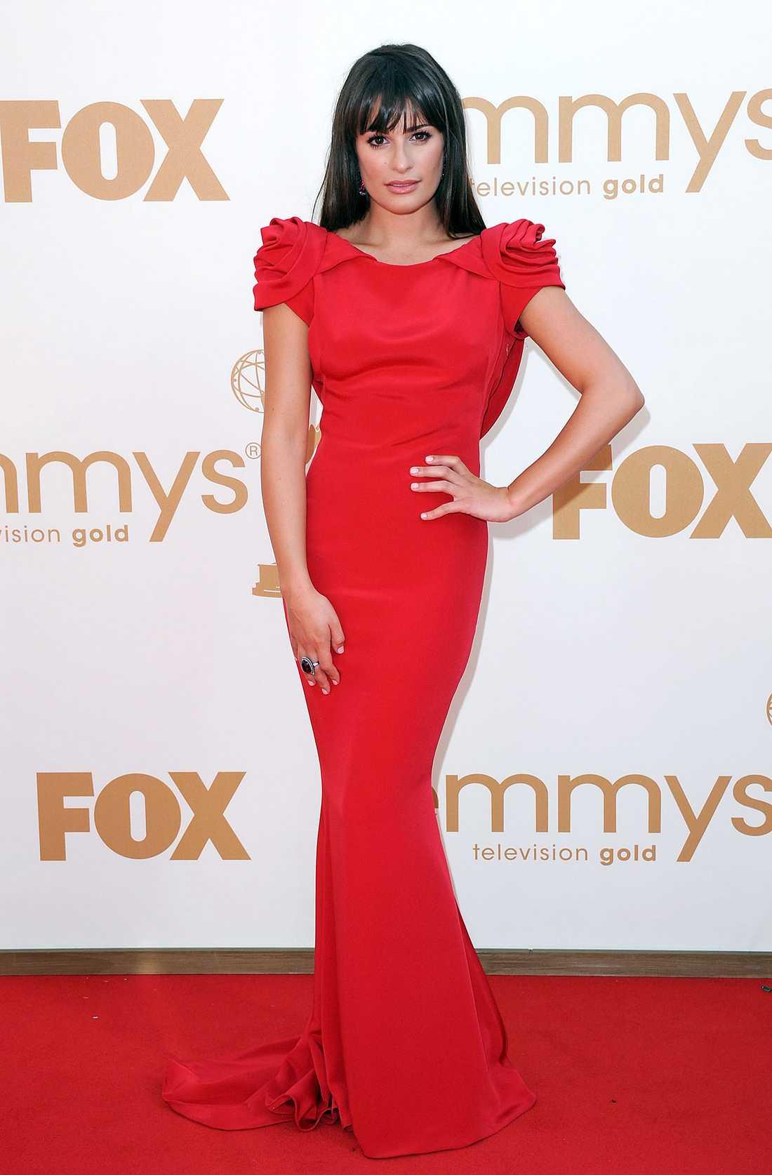 Skådespelerskan Lea Michele.