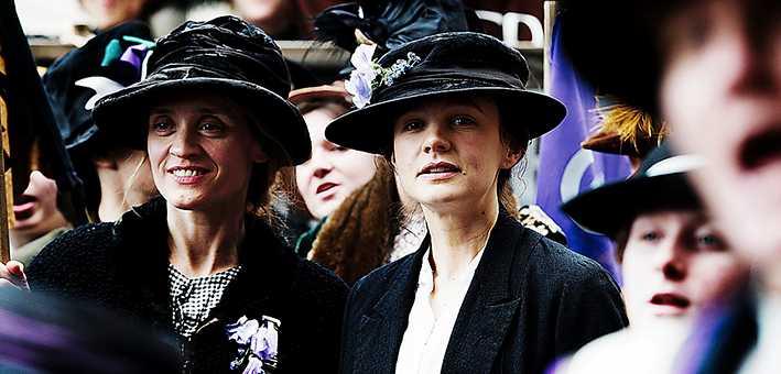 """Kampen för kvinnlig rösträtt i England skildras i filmen """"Suffragette"""" som kommer till Sverige i januari."""