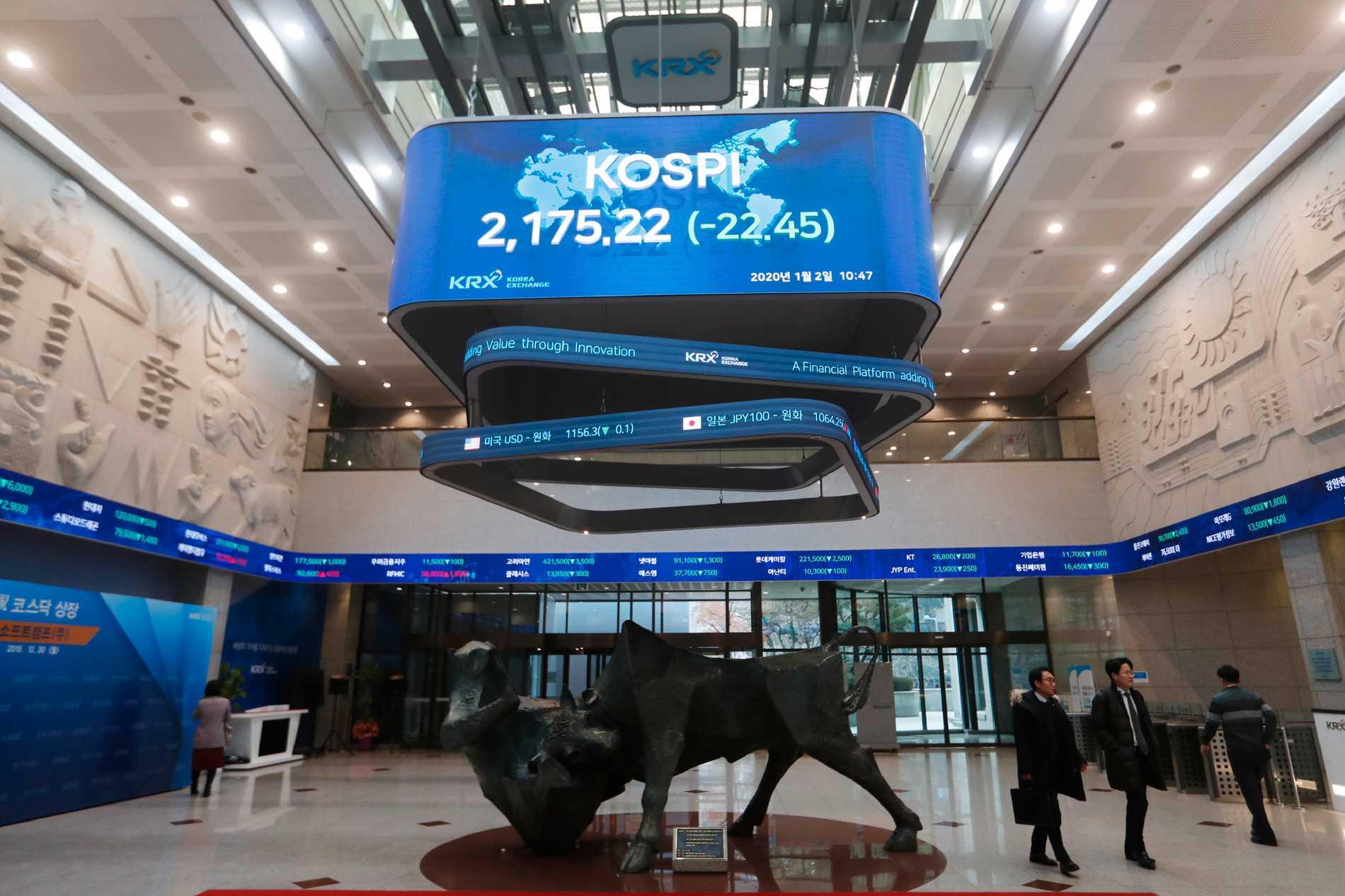 Nedåt i Asien – brant fall på Seoulbörsen