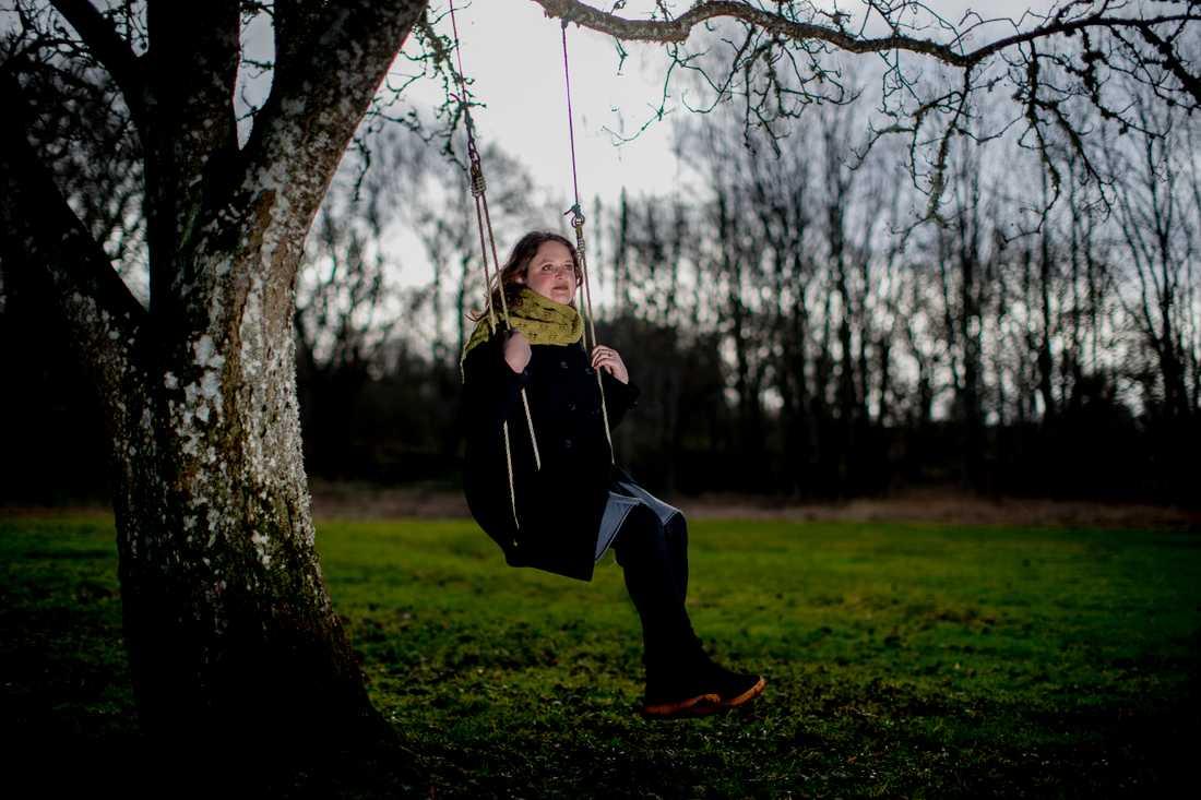 För tio år sedan flyttade Hanna Landahl med sin familj från Göteborg till landsbygden utanför Falköping.