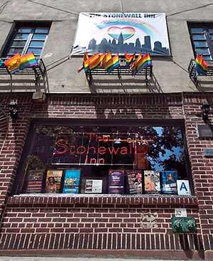 Baren Stonewall Inn där allting började.