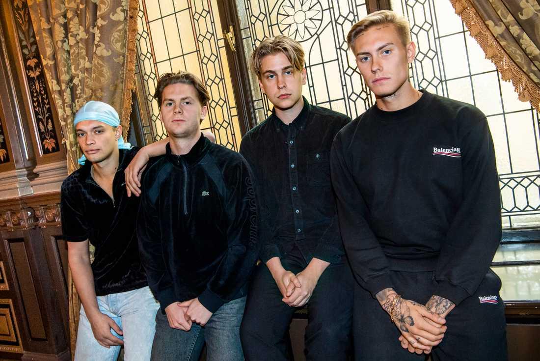 Hov1 (bilden) släpper ny låt tillsammans med rapparen Einár. Arkivbild.