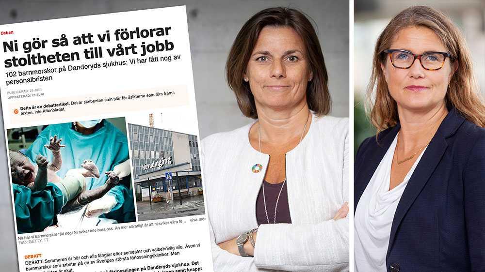 Vi måste göra mer för att öka bemanningen, och då är det enda sättet att se till så att fler vill bli barnmorskor, och att fler trivs på jobbet utan att slita ut sig, skriver Miljöpartiet i en replik om förlossningsvården i Sverige.