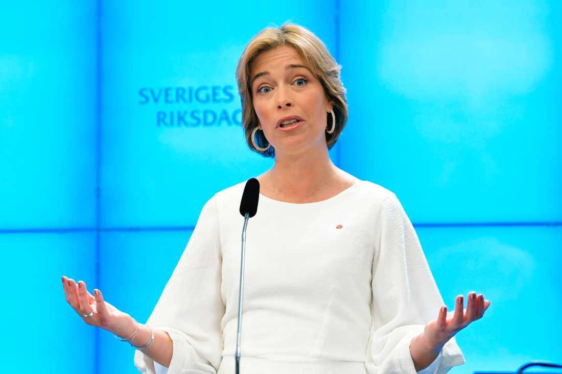 Socialförsäkringsminister Annika Strandhäll (S). Arkivbild.
