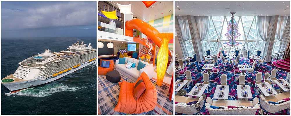 Symphony of the Seas är världens största kryssningsfartyg.