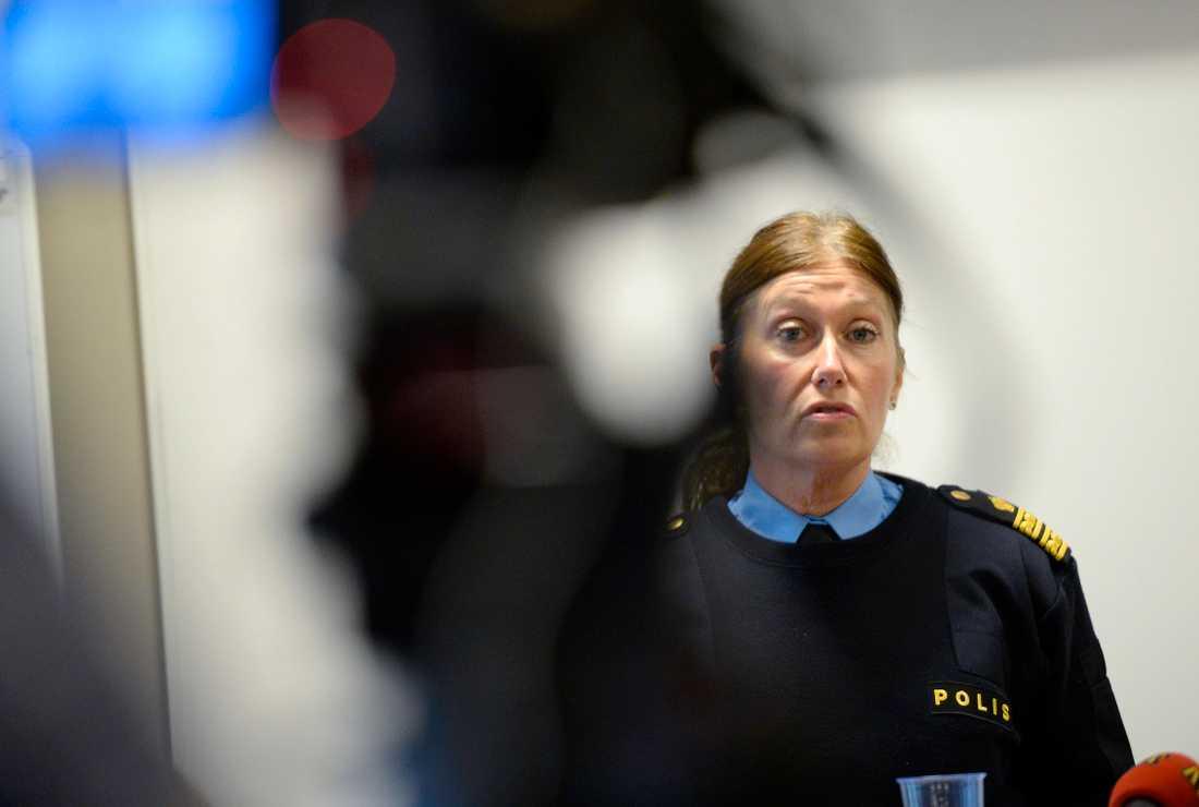 Elisabeth Anestad, biträdande kommenderingschef.