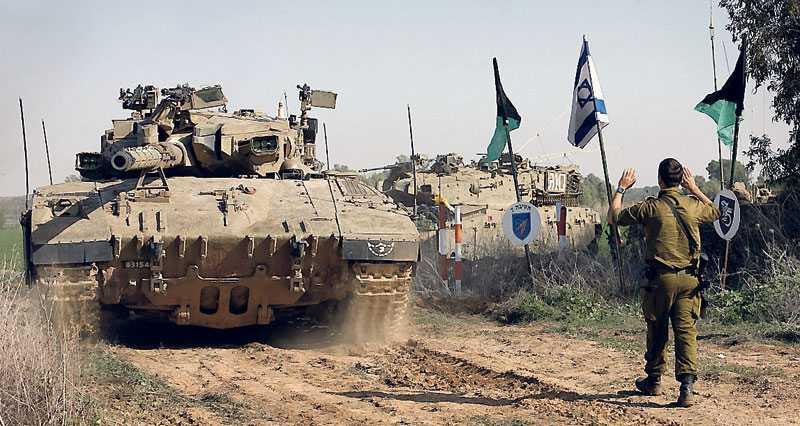 """""""En internationell närvaro via världssamfundet i området skulle öka säkerheten för både civila palestinier och israeler"""", skriver debattörerna."""