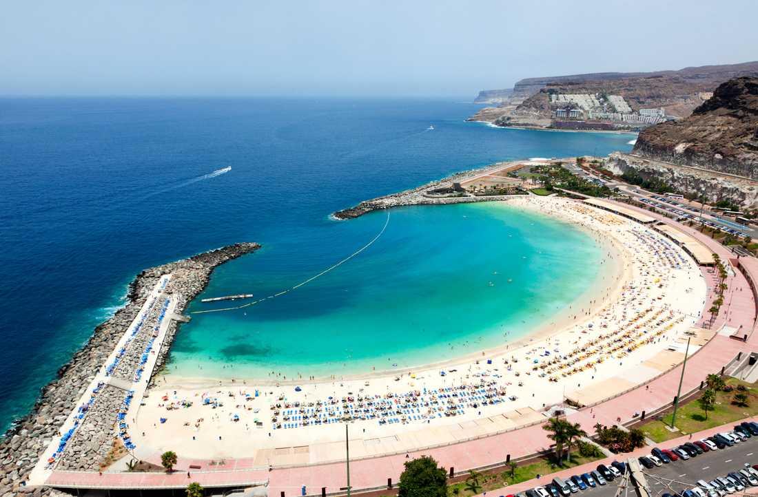 Playa de Amadores, Gran Canaria.
