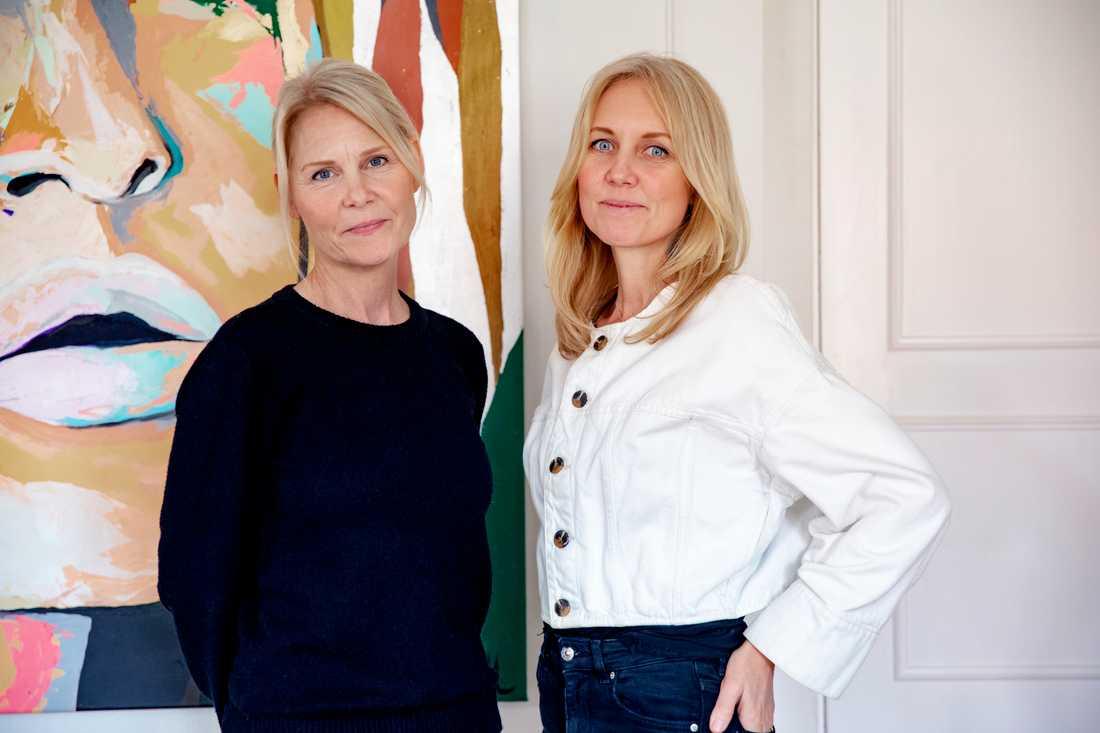 Josephine Appelqvist och Anna Sander är grundare av Talita.