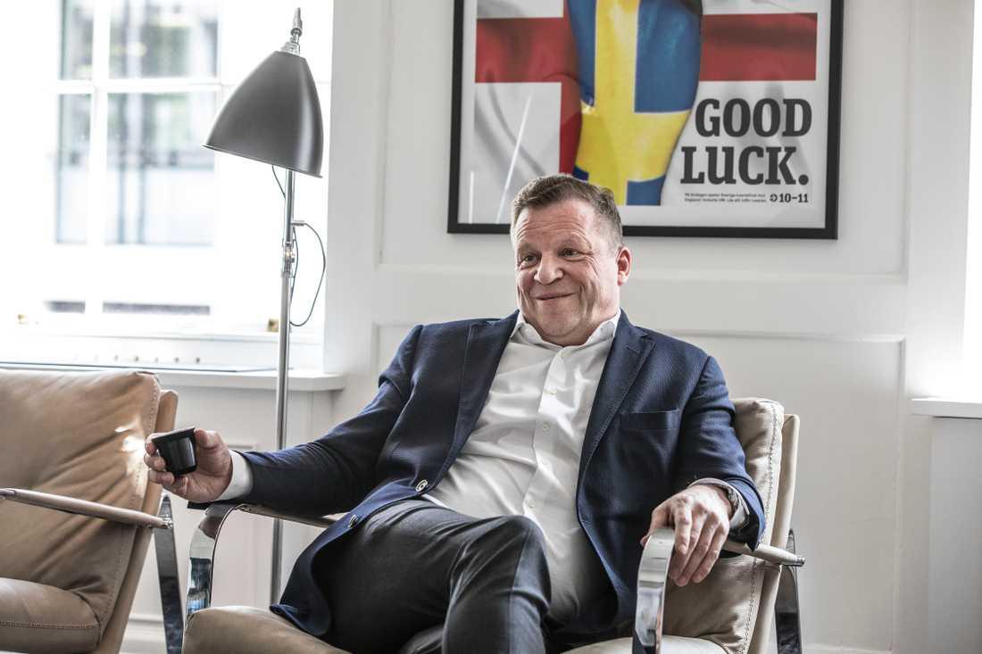 Christen Ager-Hanssen, ägare av Metro