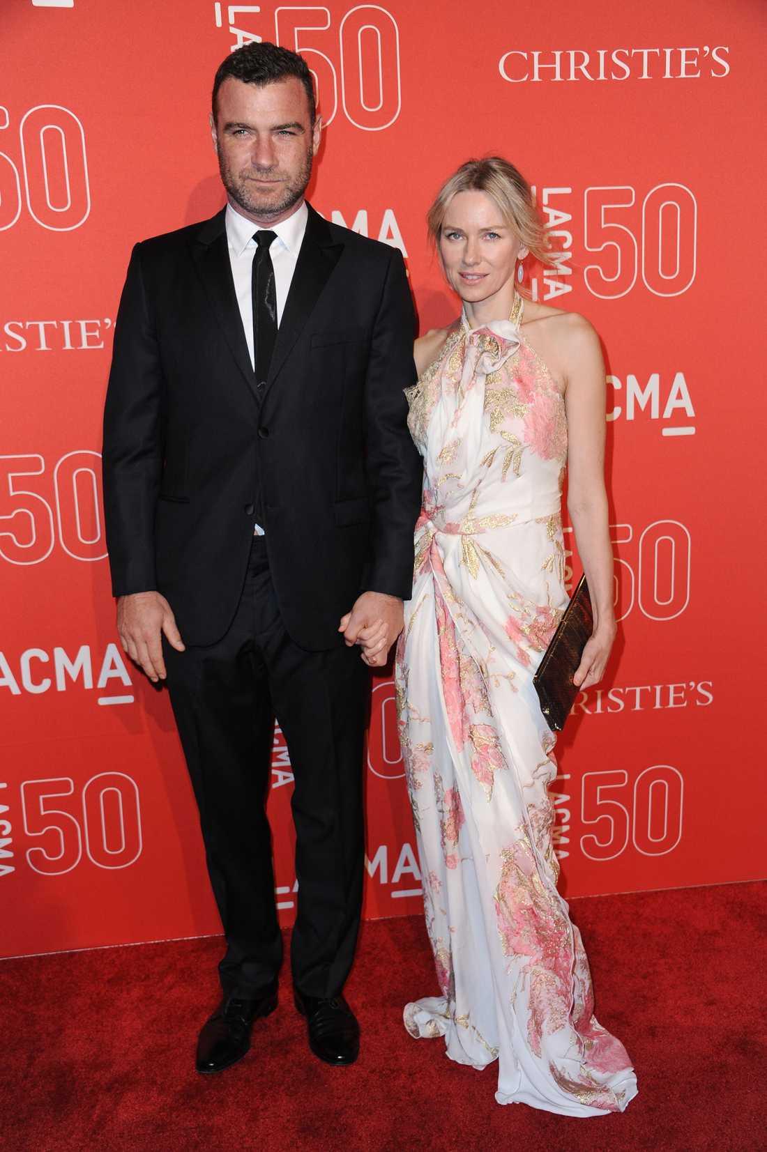 Liev Schreiber och Naomi Watts.
